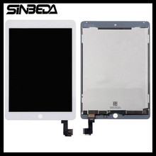 Sinbeda 2048*1536 LCD Für iPad Air 2 A1567 A1566 LCD Display Panel Touchscreen Digitizer Assembly für iPad 6 Ersatz teile