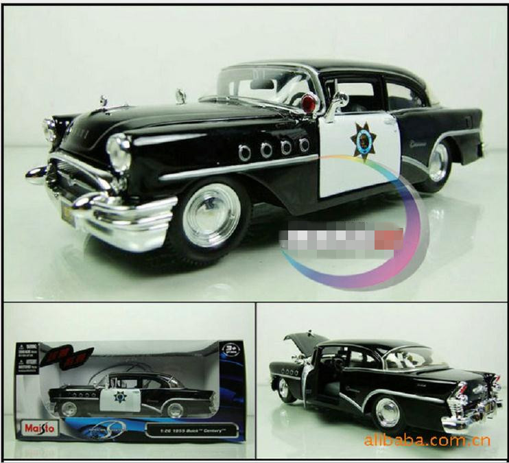 Classic toys! Alloy slide century police toy car model,3 open door, children's Educational toys, free shipping