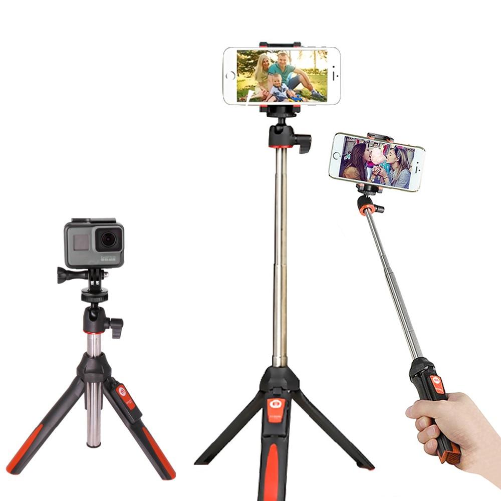 BENRO 33inch Handheld Tripod Selfie Stick 3 in 1 Bluetooth Extendable Monopod Selfie Stick Tripod For Gopro5 Selfie Stick Tripod