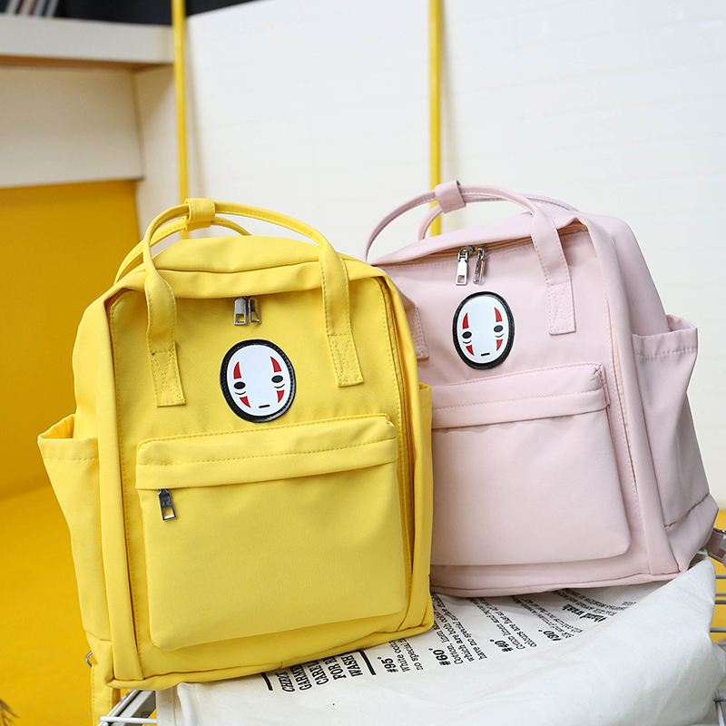 MENGXILU Chinese Face Canvas Women Backpack For Teenage Girls Schoolbag Female Mochila Feminina Women Bag Adolescent Girls 2019