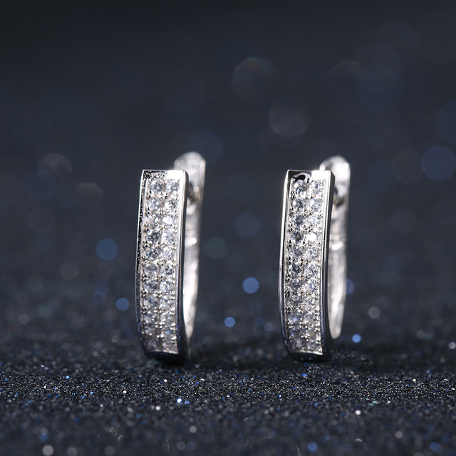 Top Quality Fashion Hoop Earrings Lead Nickel Free Earrings for Women Ladies Luxury Jewelry