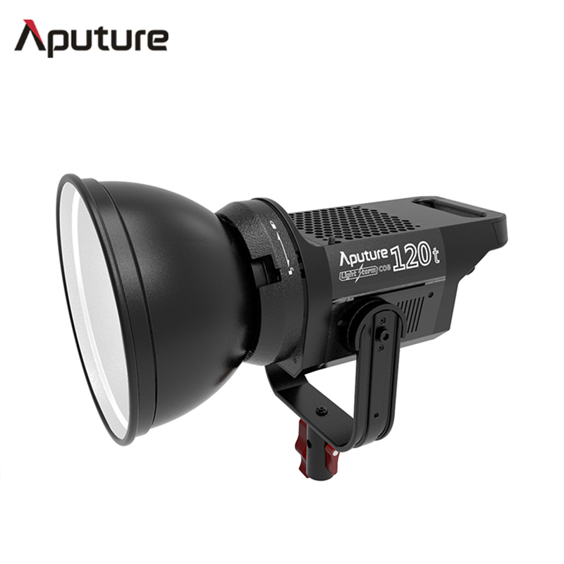 Aputure LS C120t Studio Continuous lighting bowens-mount aluminum LED video light TLCI/CRI 97 with wireless V-mount Plate aputure ls c120t tlci cri 97 light dome kit led video studio camera light panel light storm with wireless remote v mount plate