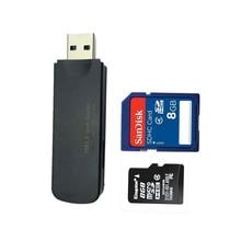 SuperSpeed 2-Slot USB 3.0 Flash Memory Card Reader Supports SD , SDHC , SDXC , MMC / MicroSD , T-Flash  [Black]
