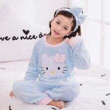 2019 New Warm Winter Kids Pajamas Sets Children Sleepwear Sets 962(China) 05df4d307