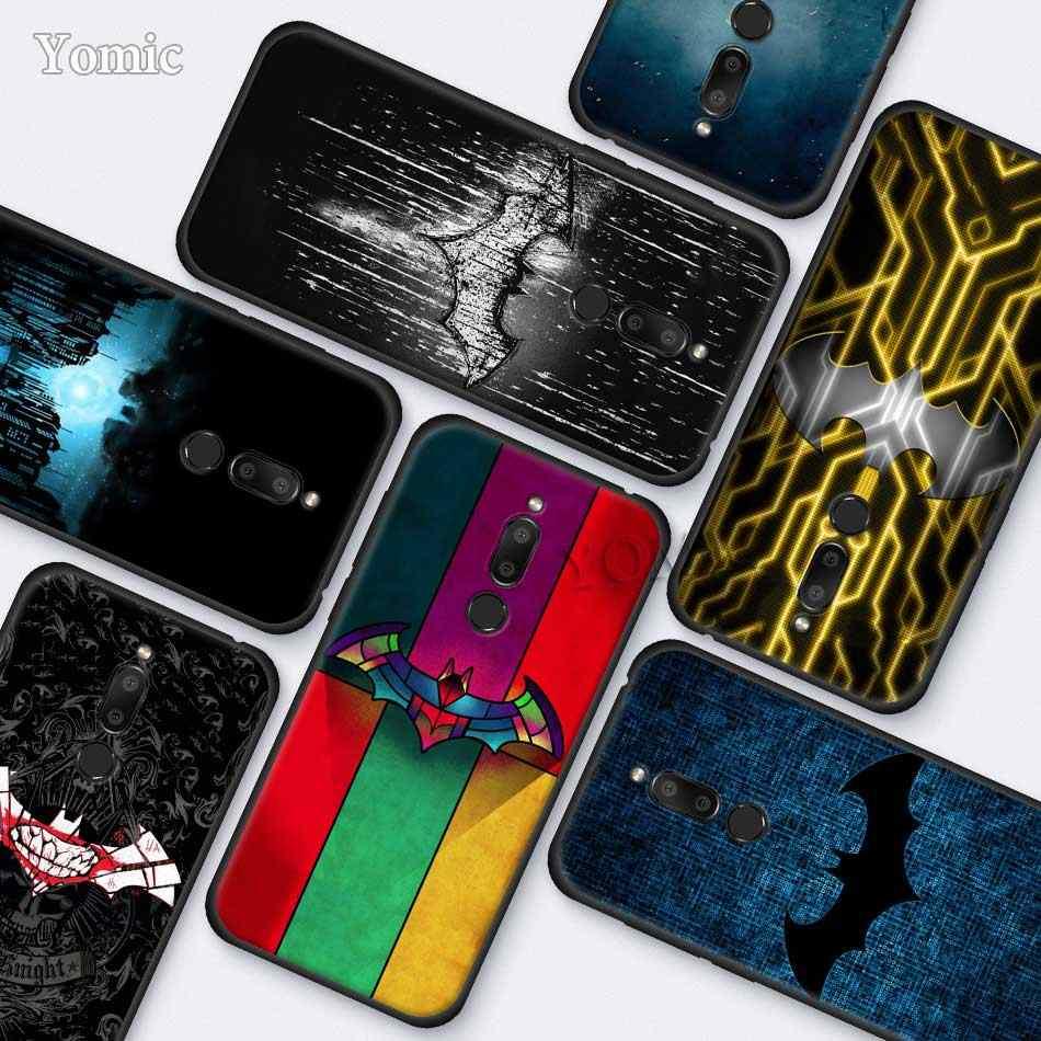Keren Marvel Batman Logo Silikon Case untuk Meizu M6T 16Xs 16S 16X16 Th 16 Hitam TPU Lembut kasus Aksesoris Ponsel Shell Cover