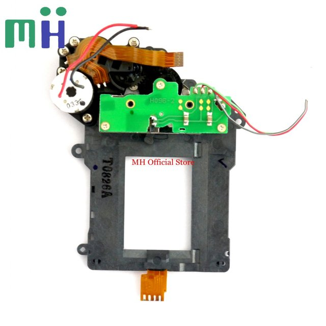 For Nikon D7000 D7100 D7200 Shutter Unit ( NO Blade ) with Motor Assembly Component Part Camera Repair Spare Part