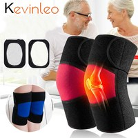 Self heating Knee Heating Machine Warm Magnet Magnetic Therapy Knee Support for Cold older people