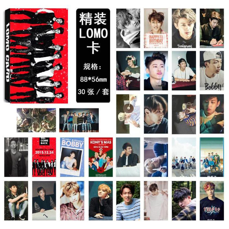 Trend Mark Kpop Seventeen Postcard Set The8 Hoshi Collective Photocards Diy Sticker 200pcs Costume Props