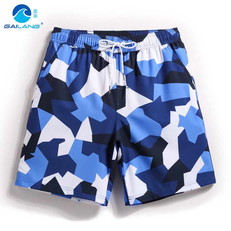 Board shorts men swimming trunks quick dry swimwear boardshorts Camouflage surf lined sweat bathing suits loose praia sports