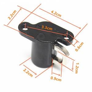 Image 5 - 1 Pcs Universal Motorrad Helm Lock Motorrad Helm Lock Hängen Haken Helm Lock Haken Mit 2 Schlüssel Set Schwarz