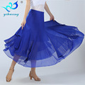 Trendy Ballroom Dance Skirts New Fashion Women Ballroom Dance Practice Skirt Latin Tango Lady Dance Skirt
