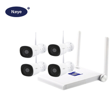 N_eye 4CH CCTV Kit 2MP Waterproof Surveillance Outdoor CCTV Camera System Professional Video Surveillance Wifi Kit For Security