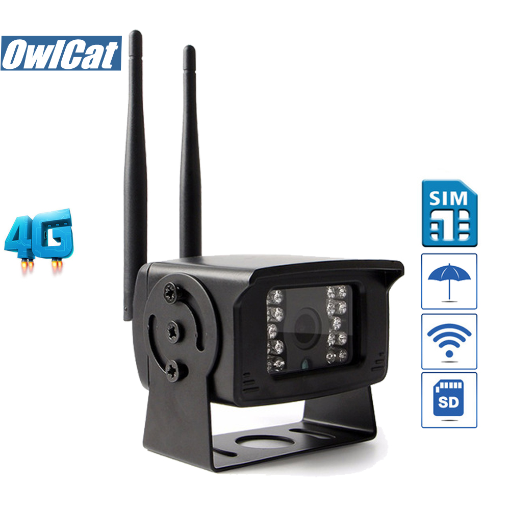 OwlCat Outdoor Waterproof 3G 4G SIM Card HD 1080P Remote Monitoring Mini Network CCTV Camera AP