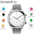 Original Ticwatch C2 Smartwatch WIFI GPS Google Zahlen Tragen OS durch Google Strava IP68 1,3