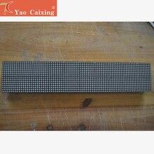 P4.75 точечный матричный светодиодный модуль, 3,75 мм высокая четкость, текстовый дисплей, красная монохромная точечная матричная панель