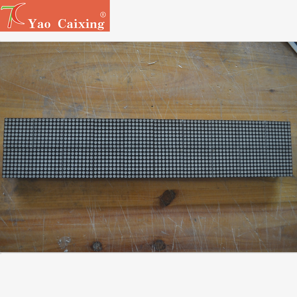 P4.75 Dot Matrix Led Module,3.75mm High Clear, Text Display, Red Monochrom Dot Matrix Panel