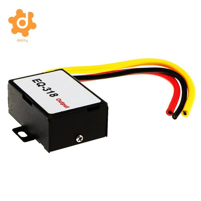 Best Price dolity Car Stereo GPS Head Unit Power Cable Amplifier Noise Reducer Audio Filter
