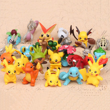 24pcs/set 4-5cm Anime Figure Christmas Gifts Cartoon pokemon Action Toy
