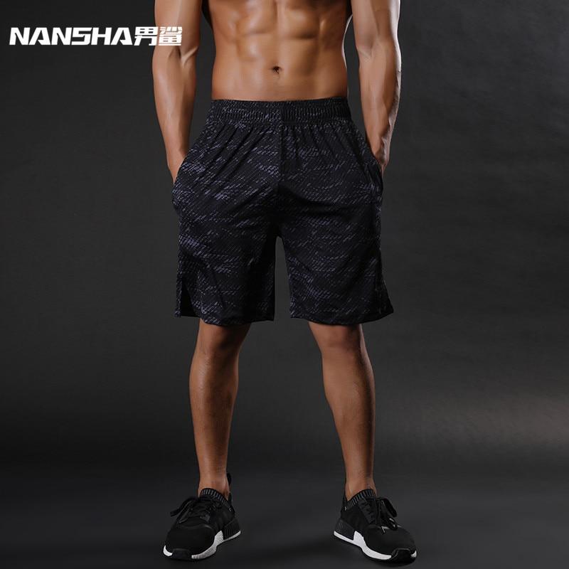 NANSHA Brand Mens Compression Shorts Summer Python Bermuda Shorts Gyms Fitness Men  Bodybuilding Tights Camo Shorts