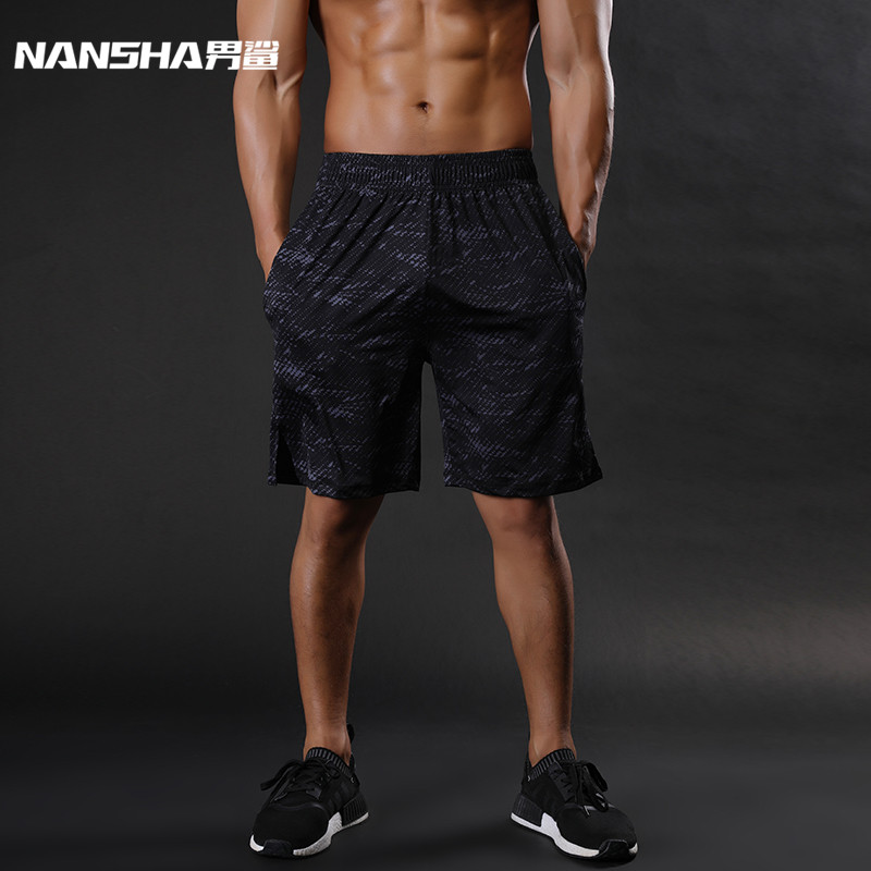 NANSHA Brand Mens Compression Shorts Summer Python Bermuda Shorts Gyms Fitness Men Cossfit Bodybuilding Tights Camo Shorts