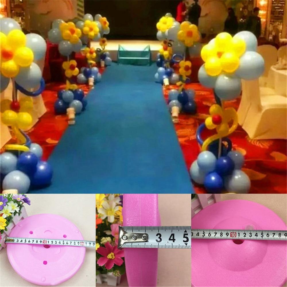 Balloon Column Base Bottom Stand Display Wedding Birthday Party Decor Supplies