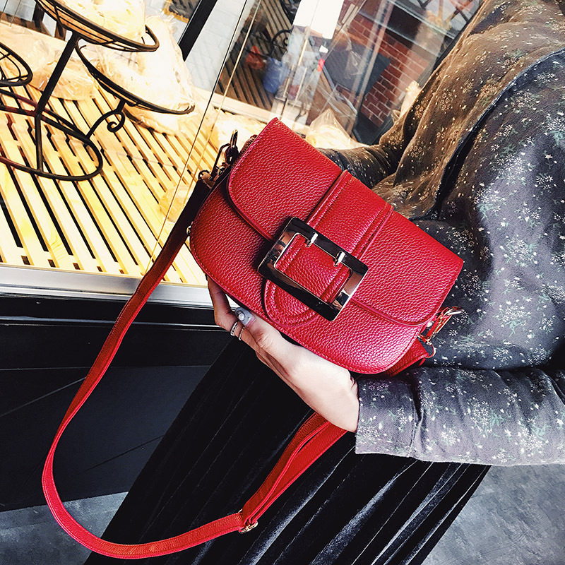 ФОТО Women Bags 2017 New Handbag Korean Casual Shoulder Bag Women's Fashion Simple Small Package Oblique Cross Female Packages