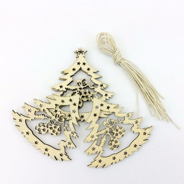Us 19 5 Laser Cut Bulk Christmas Ornaments With Names Custom In Pendant Drop Ornaments From Home Garden On Aliexpress Com Alibaba Group