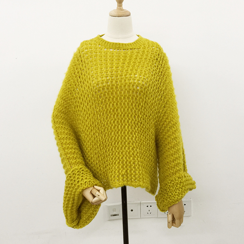 Jesen Žene pleteni pulover pulover 2018 slobodni puloveri puloveri - Ženska odjeća - Foto 3