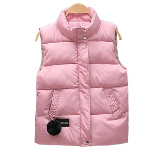 Image 4 - Women Vest Mandarin Collar Sleeveless Short Coat Women Jacket Waistcoat Female Plus Size Chalecos Para Mujer 2020 Autumn Winter