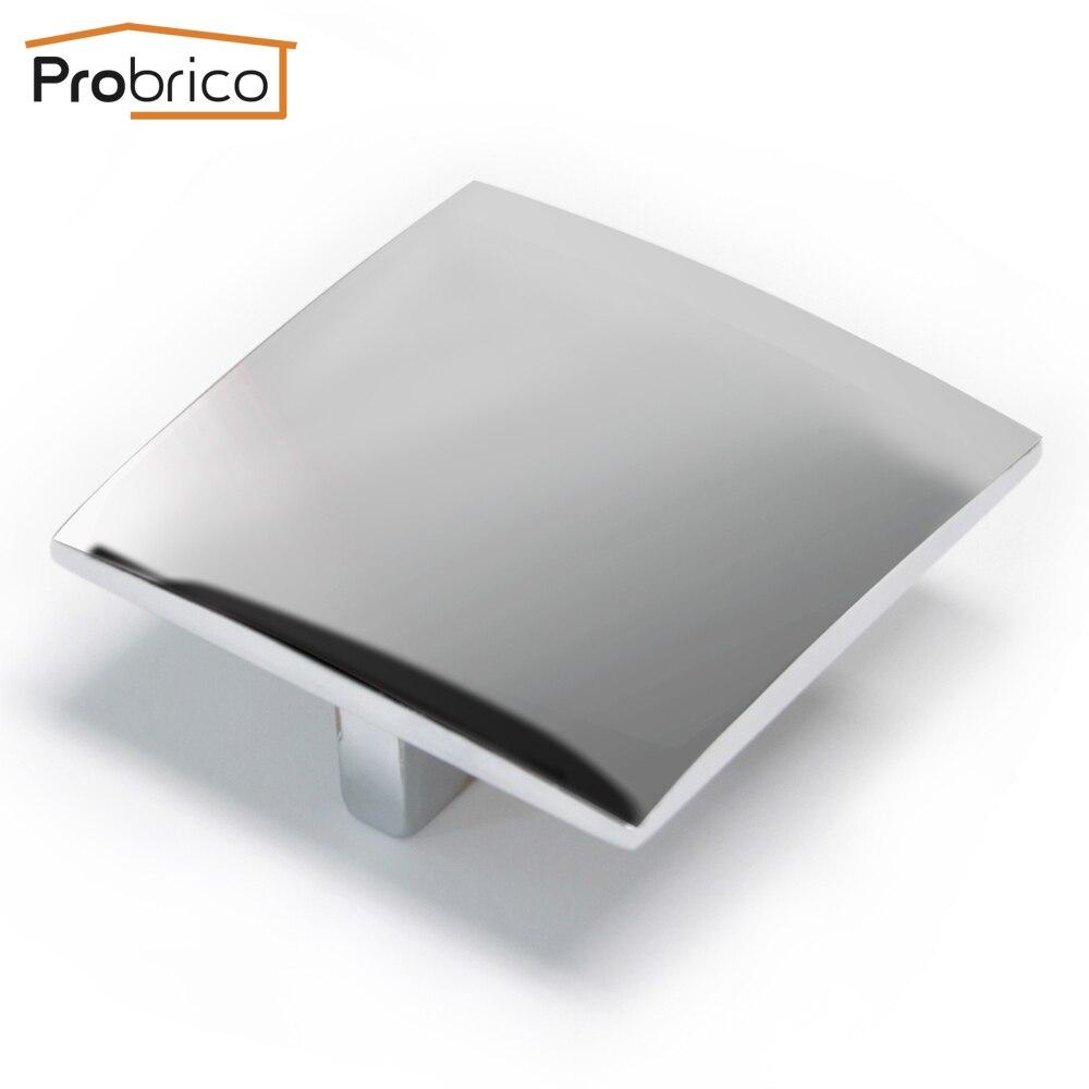 Probrico Morden Furniture Drawer Knob PD25007PC Zinc Alloy ...