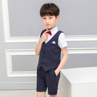 LUOBOBEIBEI Children's Costume Summer Suits For Boys Suit For Toddler Boys Clothing Sets School Suit For Boy Kids Blazer