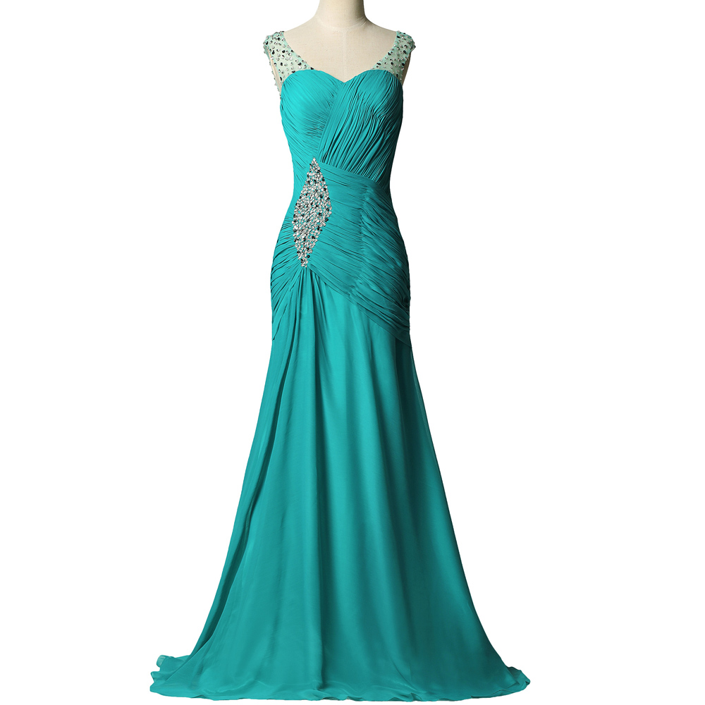 Turquoise Mermaid Prom Dresses Reviews - Online Shopping ...