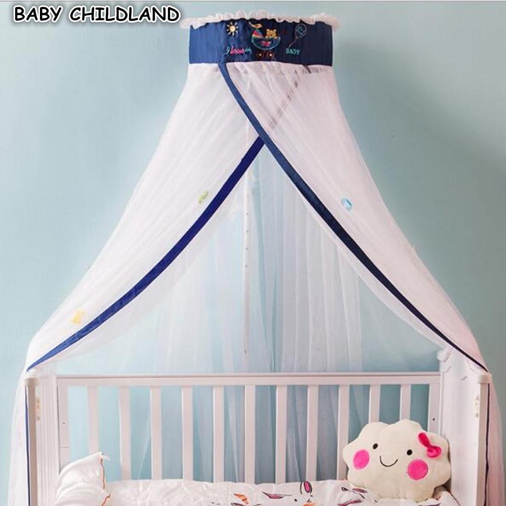 Baby Crib Mosquito Net Tent Adjustable Rouns Mosquito Net
