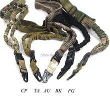 Тактический охотничий одноточечный винтовочный ремень для пейнтбола, военный Регулируемый Банджи шнур, пистолет, ремень, система CP AU FG, три цвета