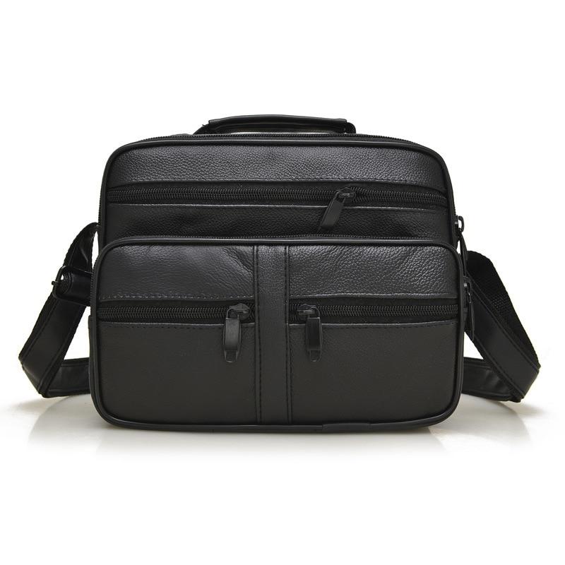 Boutique Latest high quality genuine leather man bag fashion trend of classic sheepskin shoulder bag messenger