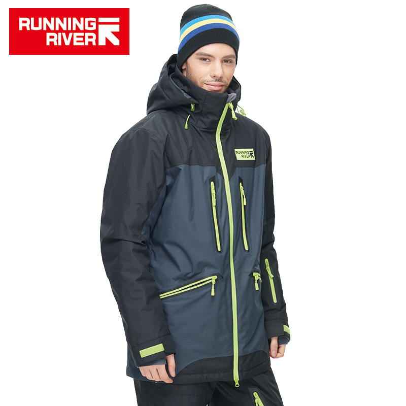 RUNNING RIVER Brand High Quality Men Winter Ski Jacket 4 Colors 6 Sizes Warm Sport Outdoor Clothing For Man Ski Jackets #N6419