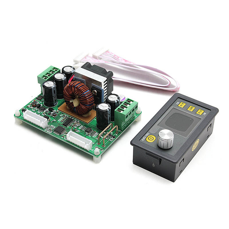 DPS3012 New Constant Voltage current Step-down Programmable Power Supply module buck Voltage converter color LCD voltmeter solar energy wind power regulator charging automatic buck voltage constant voltage constant current adjustable power supply