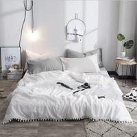 Твин Полный Королева элегантный стиль чисто белые пузыри летнее тонкое стеганое одеяло покрывало одеяло легкий вес одеяло ing домашнего исп...