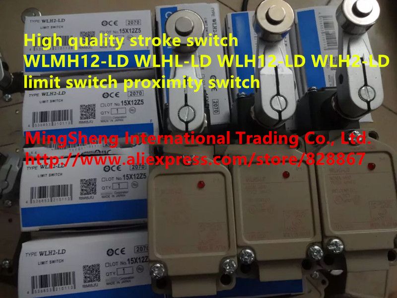 Original new 100% high quality stroke switch WLMH12-LD WLHL-LD WLH12-LD WLH2-LD limit switch proximity switch матрасы ladema coco ld 04