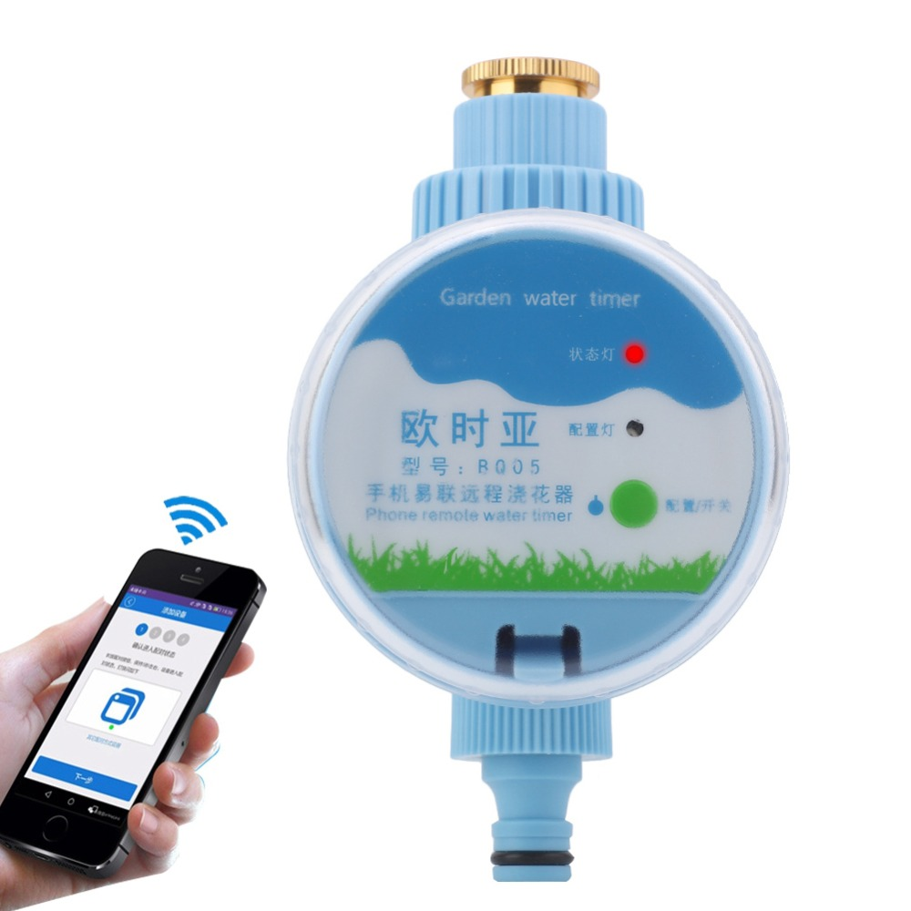 App Smart Indoor/Outdoor Electronic Digital Lcd Electronic Irrigation Timer Wifi Sprinkler System Controller Water Timer(China)