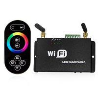 Wifi led المراقب rf البعيد ، متعدد منطقة rgb/المزدوج/لون واحد أدى باهتة تحكم ، 16 فصل ssid