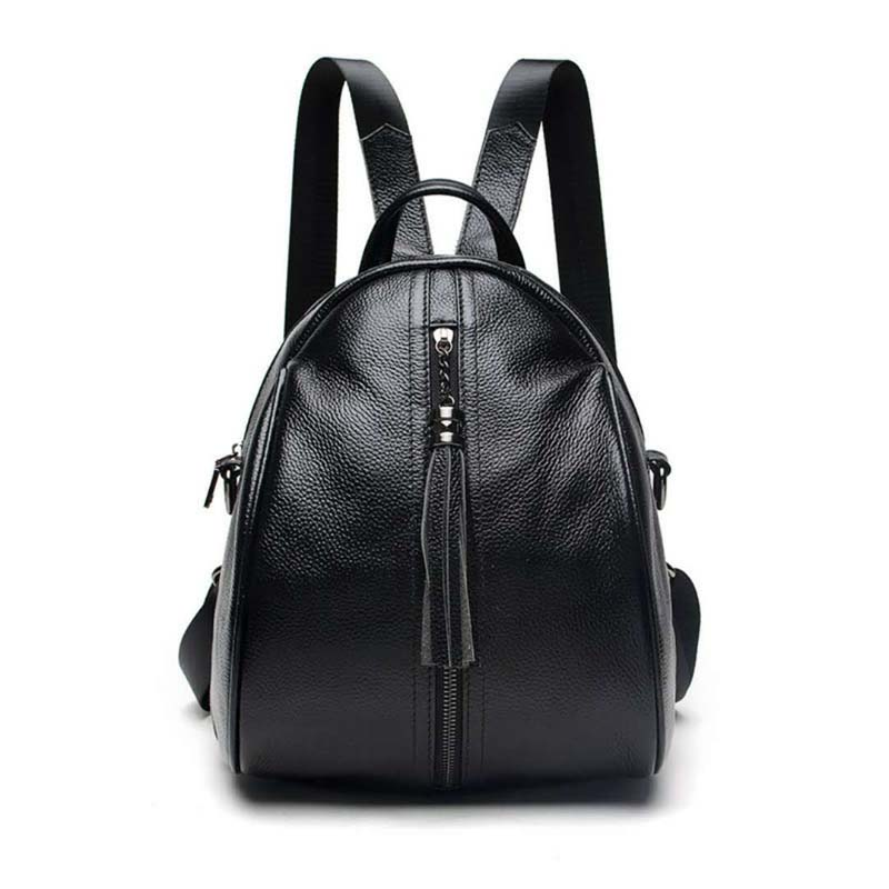 GUQIWT 2018 Female 100% Genuine Leather Real Cowhide Women Backpacks School Bags Ladies Fashion Designer Backpack For Girls 2016 new free shipping 100% real genuine cowhide leather women s backpacks brief ladies casual backpack girl school bag 3 color