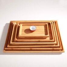 Bambus Palette kungfu tee-tablett bamboo untertasse obstteller chinesischen Tee Zubehör Hand gemacht natürliche teetisch tasse Eintritt tablett