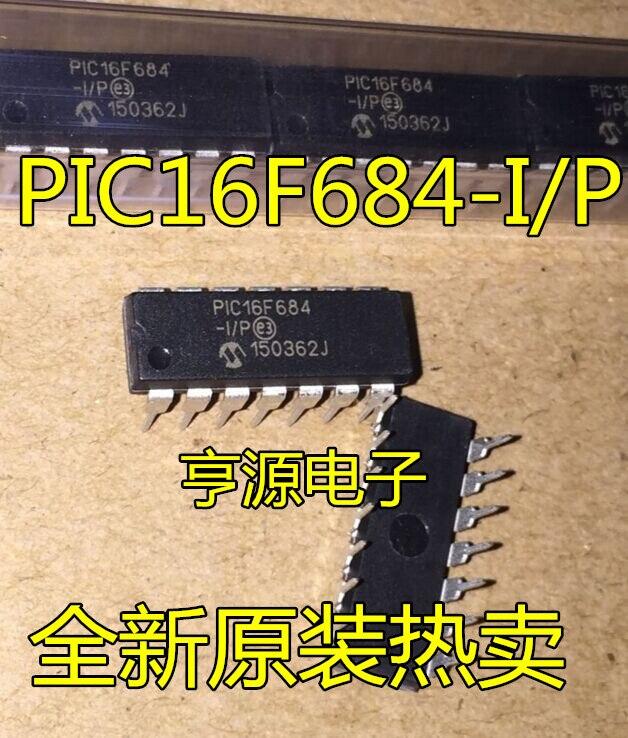 PIC16F684-I/P DIP14 microcontroller PIC16F684 microcontroller chip original--HYDD2