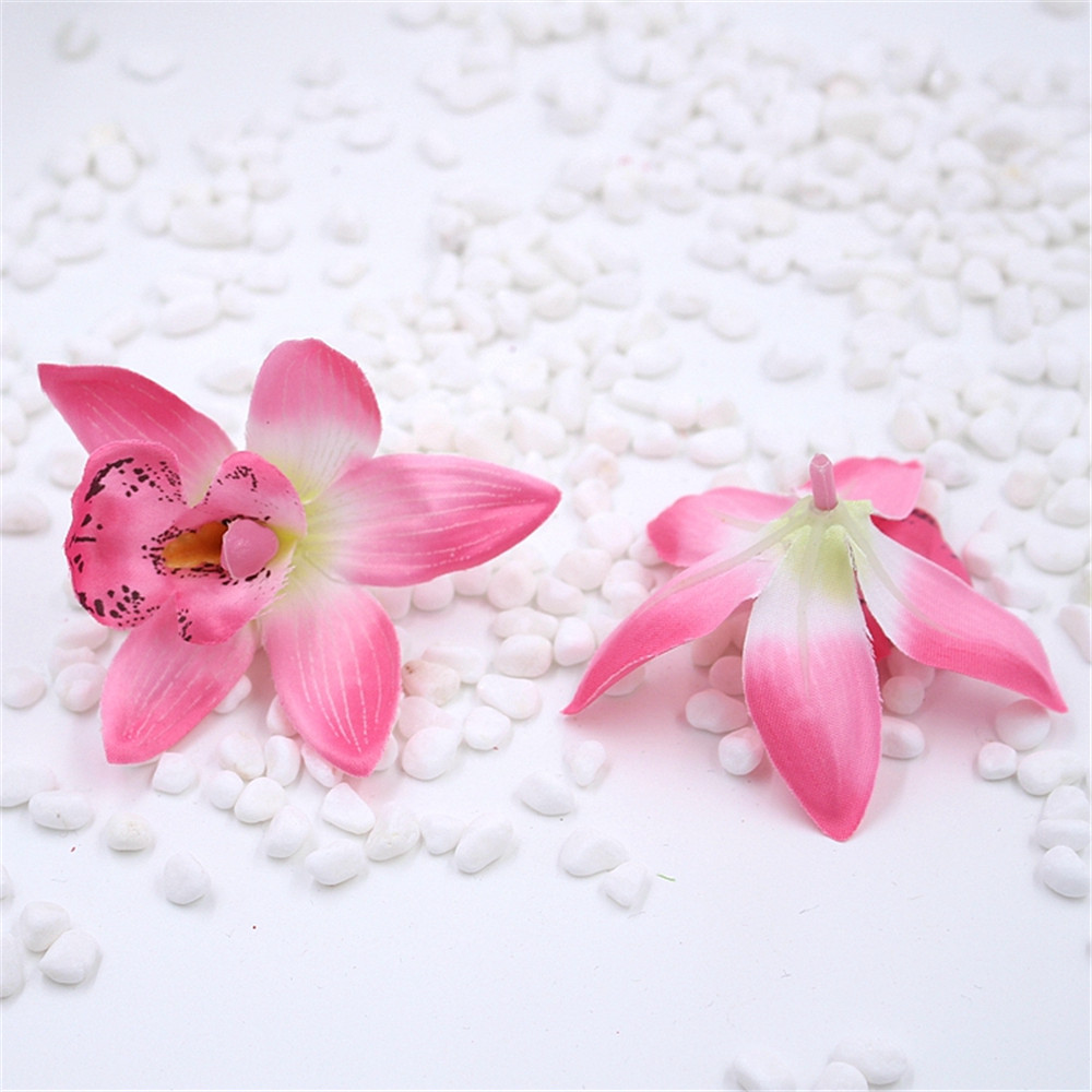 ④cheap artificial flowers Artificial Simulation Flower Butterfly ...