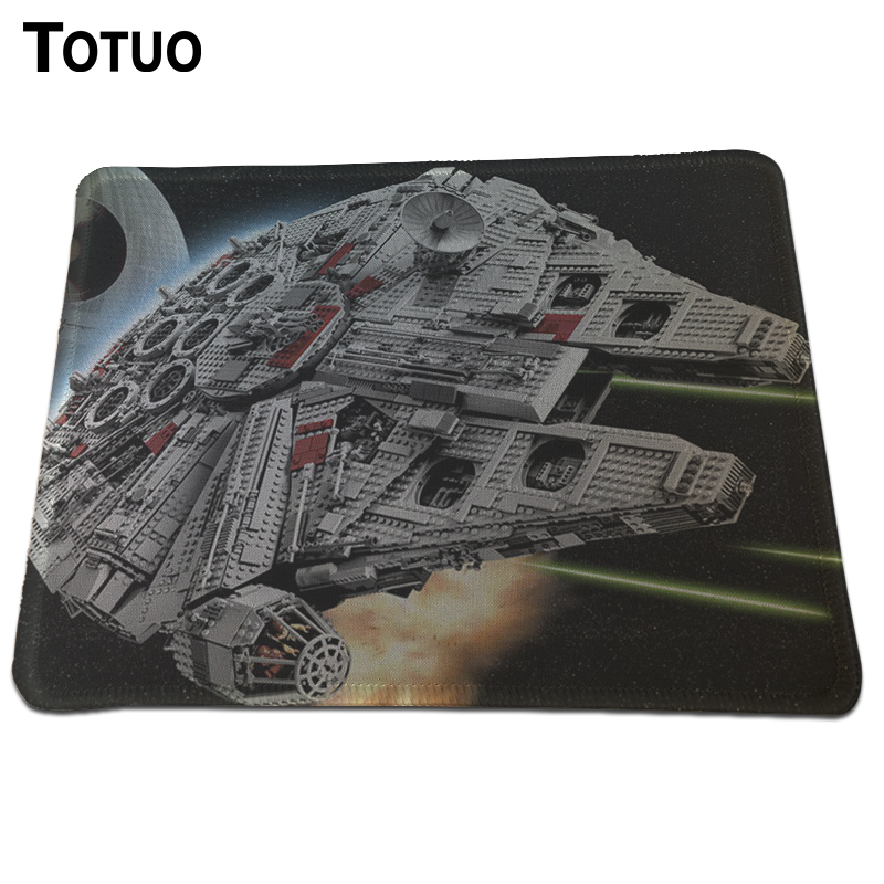 Hot Sell New design cropped header Mouse Pad Anti-slip Optical Computer Mouse Mat Durable Gaming Lock Edge Mouse Pads