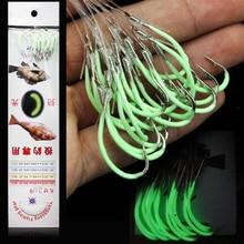 DAGEZI светлинен риболовен кука 12-28 # бодлива куки струна кука рибарски принадлежности високо въглеродна стомана риболовни куки с риболовна линия