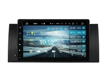 1024*600 Octa Core 9″ Android 6.0 Car Radio DVD GPS for BMW M5 E39 X5 E53 With 4GB RAM Bluetooth WIFI 32GB ROM USB Mirror-link