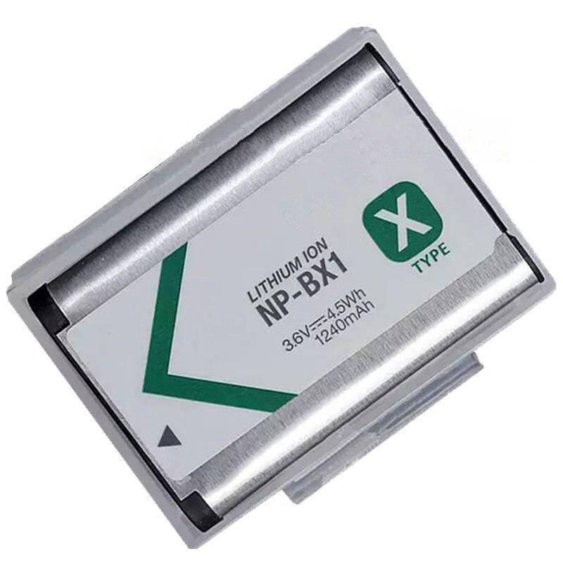 NP-BX1 NP BX1 Batterie Pack pour Sony DSC RX1 RX100 M3 M2 RX1R GWP88 PJ240E AS15 WX350 WX300 HX300 HX400