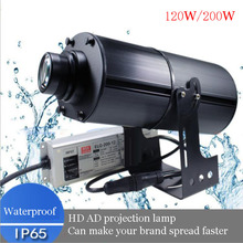 120W/200W High Power outdoor waterproof long-distance Projection lamp ,The lamp Can make your brand spread faster,freeshipping original tv lamp xl5200u uhp100 120w p22